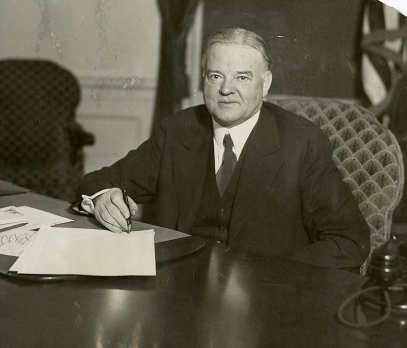 how far did president hoover s The united states was led by three republican presidents during the 1920s, namely warren harding, calvin coolidge and herbert hoover business is america's business, said calvin coolidge he.